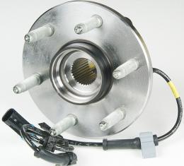 Moog Hub Assemblies 515036, Wheel Bearing and Hub Assembly, OE Replacement, With 6 Stud Hub