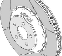 Wilwood Brakes GT Rotor & Lug Drive Hat Assembly 165-14930