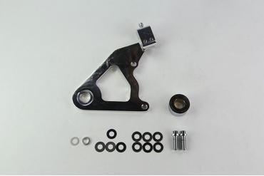 Wilwood Brakes Bracket Kit, Rear - Motorcycle 250-8036-P