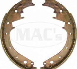 Ford Thunderbird Brake Shoe Set, Rear, Relined, 11 X 1-3/4, 1955-56