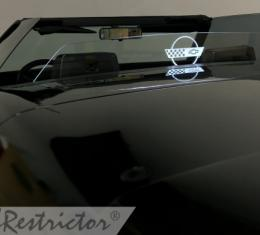 Windrestrictor for 1986-1996 Chevrolet Corvette Convertible