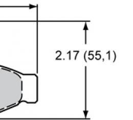 Wilwood Brakes High-Temperature Racing Pads - Plate: D413 - Compound: PolyMatrix A 15A-6204K