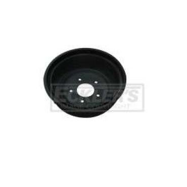Chevy Truck Brake Drum, Rear, 5 Lug, For 2 Shoes, 1970-1987