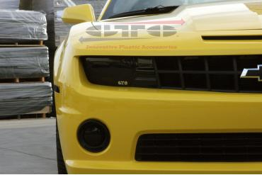 GT Styling GT0280FS, Driving/ Fog Light Cover, Direct-Fit, Smoke, Plastic, Solid, Set of 2