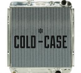 Cold Case Radiators 65-66 Ford Mustang 289 Aluminum Performance Radiator MT FOM564