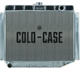 Cold Case Radiators 70-74 E Body Challenger Aluminum Performance Radiator MT 17x26 Inch MOP754