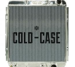 Cold Case Radiators 65-66 Ford Mustang 289 Aluminum Performance Radiator AT FOM564A