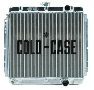 Cold Case Radiators 67-70 Mustang 289/302 Fair Coug Gal Aluminum Performance Radiator 20 Inch MT FOM561
