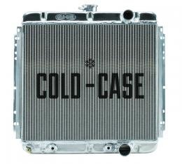 Cold Case Radiators 67-70 Mustang 289/302 Fair Coug Gal Aluminum Performance Radiator 20 Inch AT FOM561A