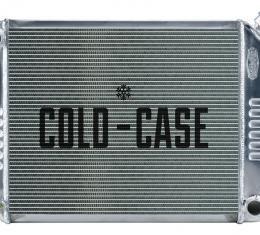 Cold Case Radiators 68-79 Nova Small Block Aluminum Radiator Manual Transmission CHN543