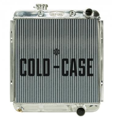 Cold Case Radiators 65-66 Ford Mustang 289 Aluminum Performance Radiator MT FOM564
