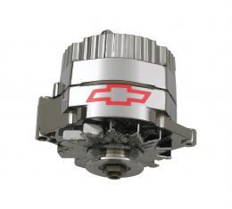 Proform Alternator, 60 AMP, GM 1 Wire Style, GM Bowtie Logo, Chrome Finish, 100% New 141-658