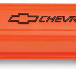 Proform Engine Valve Covers, Stamped Steel, Tall, Orange w/ Bowtie Logo, Fits SB Chevy 141-784