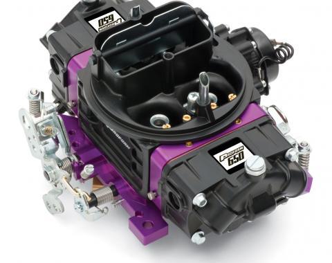 Proform Black Street Series Carburetor, 650 CFM, Mechanical Secondary, Black & Purple 67312