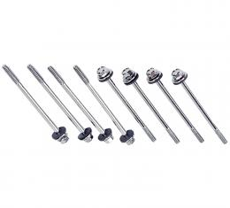 Proform Engine Valve Cover Holdown Bolts, Centerbolt Style, Washers Included, 8 Pieces 141-133