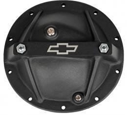 Proform Differential Cover, Bowtie Emblem Model, GM 10 Bolt 8.2/8.5, Alum, Black Crinkle 141-696