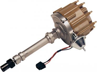 Proform HEI Distributor, Hi-Performance, Built-In Coil, Black Cap, Chevy V8 Engine 55-82 66940BK