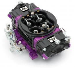 Proform Black Race Series Carburetor, 750 CFM, Mechanical Secondary, Black & Purple 67302