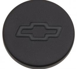 Proform Engine Oil Filler Cap, Push-In Style, 1.22 Hole, Bowtie Logo, Black Crinkle 141-629