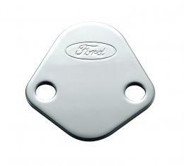 "Proform ""Fuel Pump Block-Off Plate, Chrome 302-290"