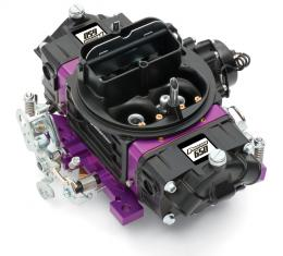 Proform Black Street Series Carburetor, 650 CFM, Mechanical Secondary, Black & Purple 67312