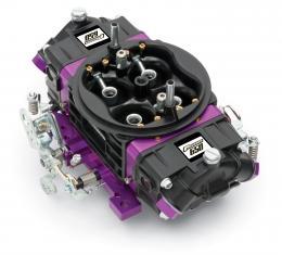 Proform Black Race Series Carburetor, 650 CFM, Mechanical Secondary, Black & Purple 67301