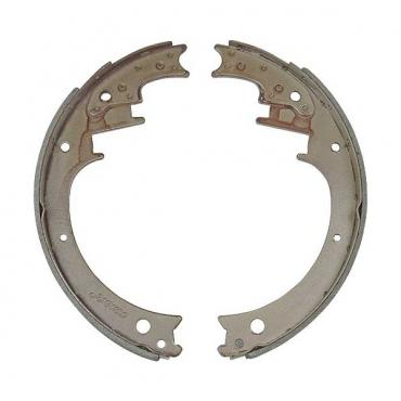 Ford Pickup Truck Relined Front Brake Shoe Set - 12 1/8 X 2- F350