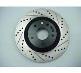Stoptech Corvette Brake Rotor, Left, Rear, High Performance, 1988-1996