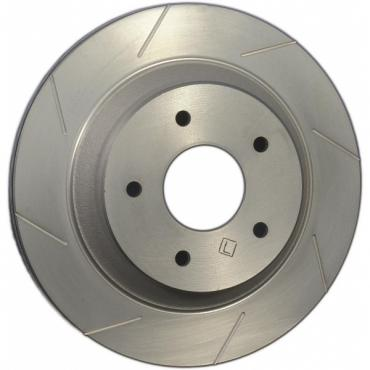"Corvette Disc Brake Rotor, Left, Front, 12"", StopTech, Sport, 1988-1995"