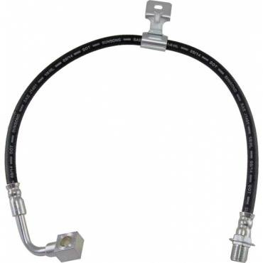 Chevy Truck Brake Caliper Hose, Left, 1973-1978