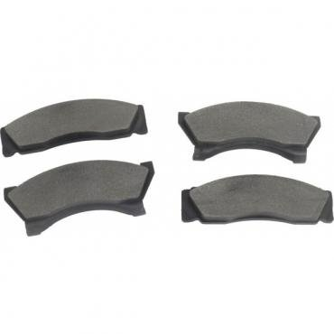 Ford Thunderbird Disc Brake Pads, Rear Axle, Set, 1975-76