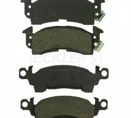 Chevy Blazer, GMC Jimmy or K10 Suburban, Front Disc Brake Pads, Semi-Metallic, Four Wheel Drive, 1981-1991