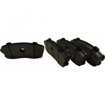 Corvette Brake Pads, Rear, Stop Tech Street Performance, Z06 2006-2013
