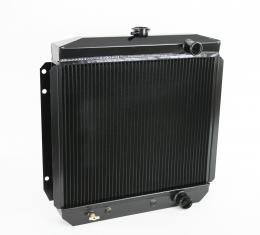 DeWitts 1964-1966 Ford Mustang Direct Fit Radiator Black, Automatic 32-1238003A