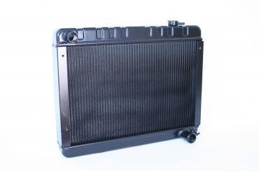 DeWitts 1962-1967 Chevrolet Chevy II Direct Fit Radiator Black, Manual 32-1239010M