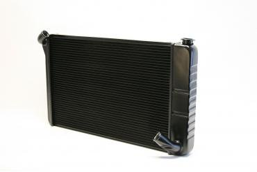 DeWitts 1969-1972 Chevrolet Corvette Direct Fit Radiator Black, Manual 32-1239070M