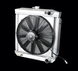 DeWitts 1964-1966 Ford Mustang Radiator Fan Combo, Manual 32-4138003M