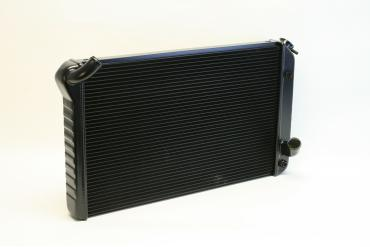 DeWitts 1973-1976 Chevrolet Corvette Direct Fit Radiator Black, Automatic 32-1239073A