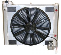 DeWitts 1961-1962 Chevrolet Corvette Radiator Fan Combo, Automatic 32-4139061A