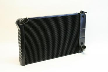 DeWitts 1969-1972 Chevrolet Corvette Direct Fit Radiator Black, Automatic 32-1239070A
