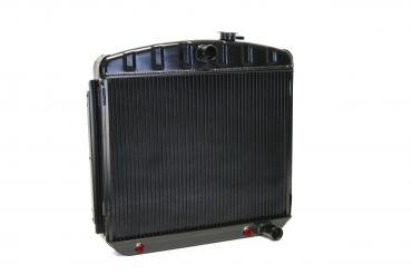 DeWitts 1955-1957 Chevrolet Bel Air Direct Fit Radiator Black, Automatic 32-1239012A