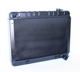 DeWitts 1963-1966 Chevrolet C10 Pickup Direct Fit Radiator Black, Automatic 32-1239017A