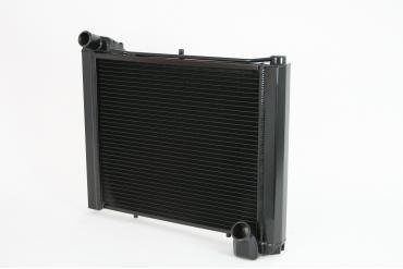 DeWitts 1961-1962 Chevrolet Corvette Direct Fit Radiator Black, Manual 32-1239061M