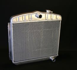 DeWitts 1955-1957 Chevrolet Bel Air Direct Fit Radiator HP, Manual 32-1149012M
