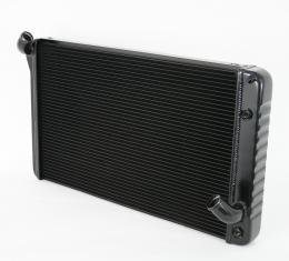 DeWitts 1969-1972 Chevrolet Corvette Direct Fit Radiator Black, Automatic 32-1239069A