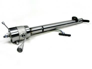 ididit Retrofit 57 Chevy, Straight Column Shift w/Rack, Paintable Steel 1160577910