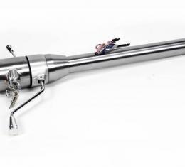 "ididit Universal 35"" Tilt Column Shift w/Ignition, Paintable Steel 1530350010"