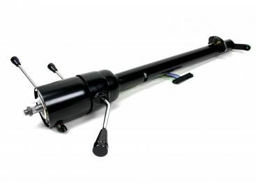 ididit 1959-1960 Chevrolet Impala Retrofit 59-60 Impala/El Camino, Tilt Column Shift, Black Powder Coat 1140600051