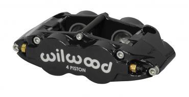 Wilwood Brakes Forged Narrow Superlite 4 Dust Seal Radial Mount 120-14438-BK