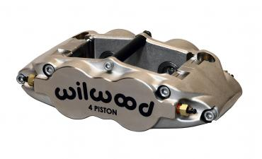 Wilwood Brakes Forged Narrow Superlite 4 Rdl MT-Quick-Silver/ST 120-12603-N